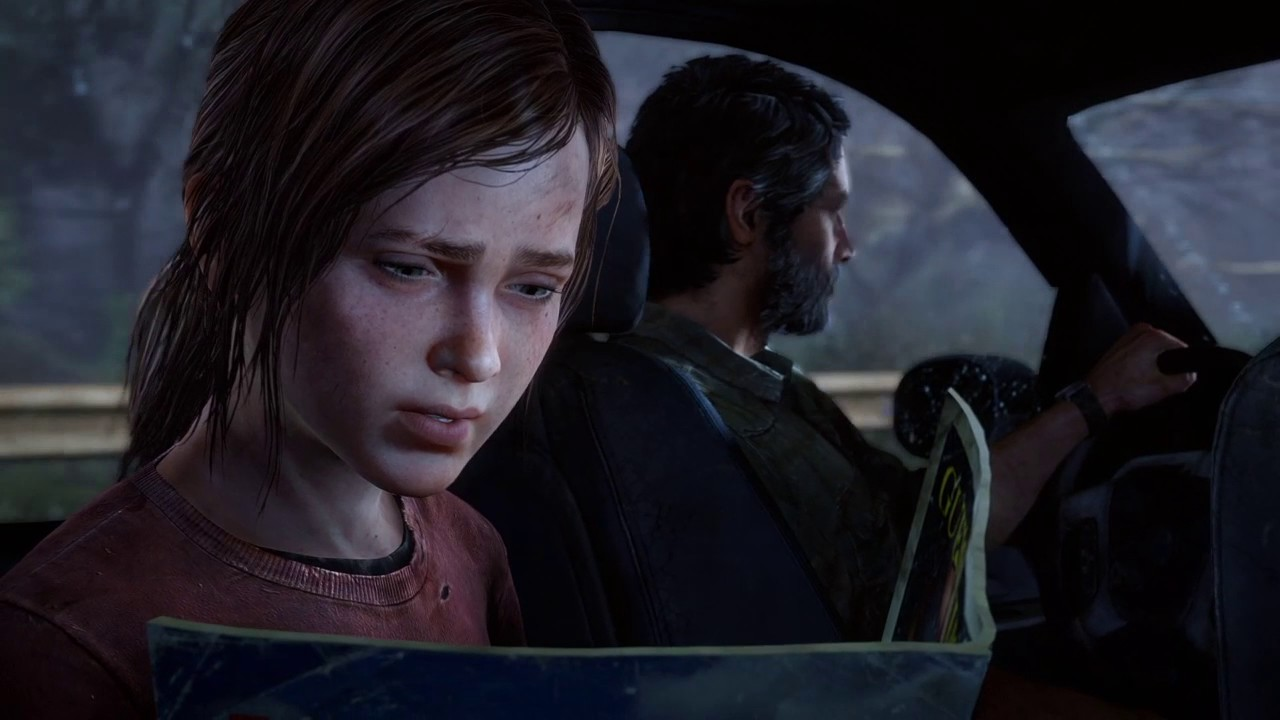 The Last of Us™ Remastered - Elllie finds a porn magzine