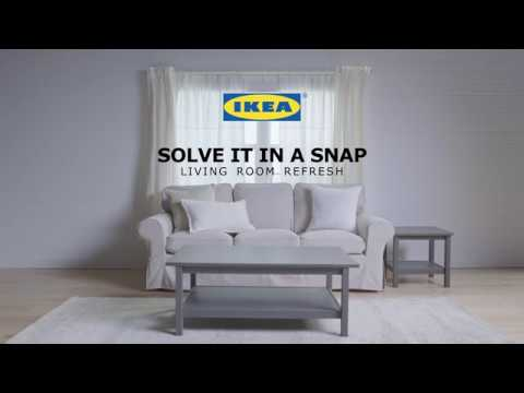 Living Room Refresh: Solve It In A Snap By IKEA