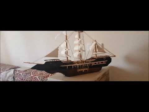 Download homemade battelship pirate ship    كيف تصنع  سفينة شراعية بالمنزل