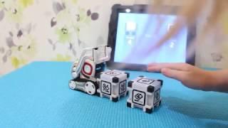 Робот Козмо. Играем с роботом. Наш домашний робот. Robot Anki Cozmo.