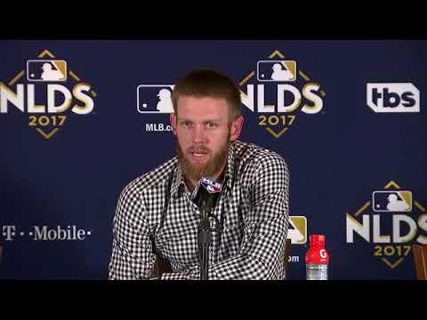 Stephen Strasburg Postgame Interview | Nationals vs Cubs Game 4 NLDS