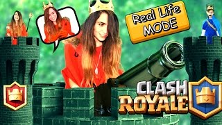Clash Royale in Real life| קלאש רויאל במציאות