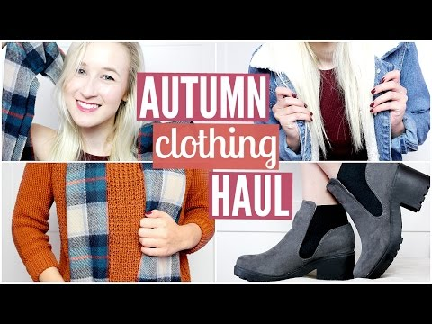 Autumn Haul 2015 + Try On! (Forever21,...