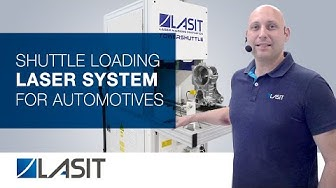 Laser marking machine for metals with Shuttle - LASIT
