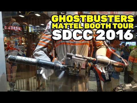 SDCC 2016: Ghostbusters Mattel booth tour at San Diego Comic-Con