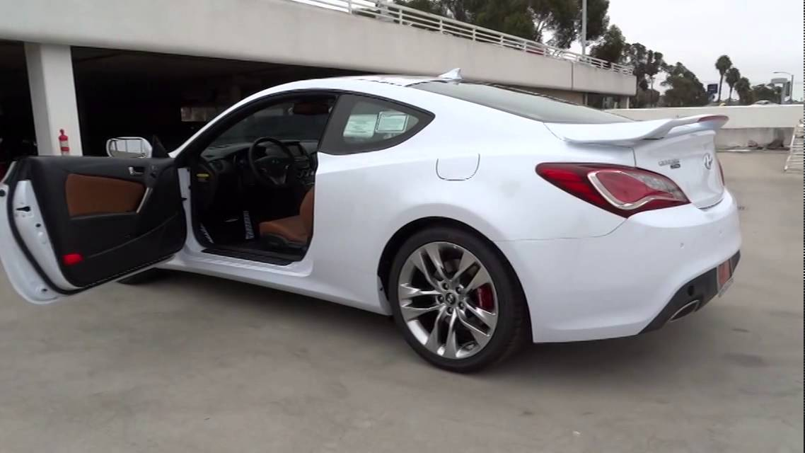 2015 Hyundai Genesis Coupe Orange County Irvine Laguna Niguel