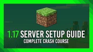 How to: Minecraft 1.17 Seŗver (Vanilla | Free | +Port forwarding guide)