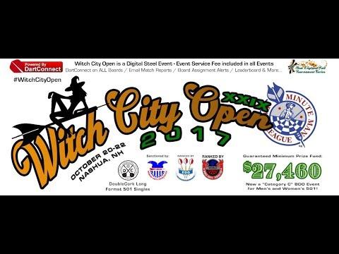 29th Witch City Open Saturday Live Stream Minute Man Dart League