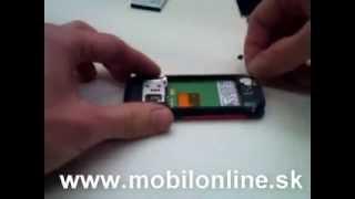 Výmena: LCD displej Nokia 5310 XpressMusic, How to change Nokia 5310 XpressMusic LCD