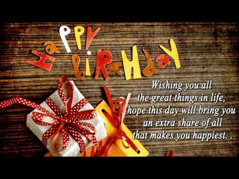 Happy Birthday Wishes | Best Birthday Quotes, SMS, Messages | B'day Greetings