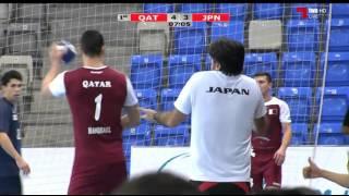 ハンドボール アジア選手権 日本vsカタール 前半