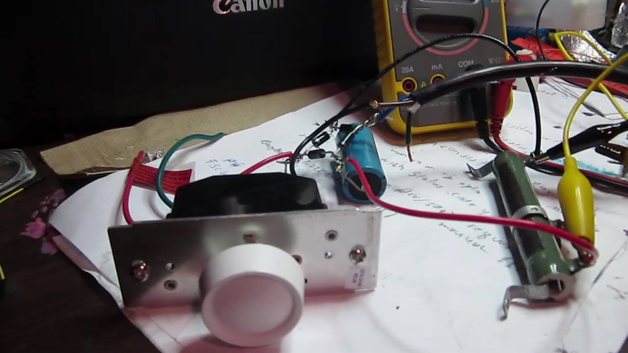 A Simple Variable Dc Power Supply Circuit To Build Youtube