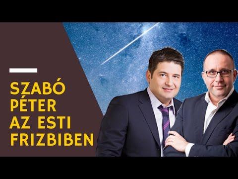Szabó Péter az Esti Frizbi műsorában letöltés