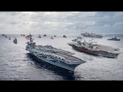 War Begins Today (Jul.28) US starts Attack to China with UK and All Allies in South China Sea