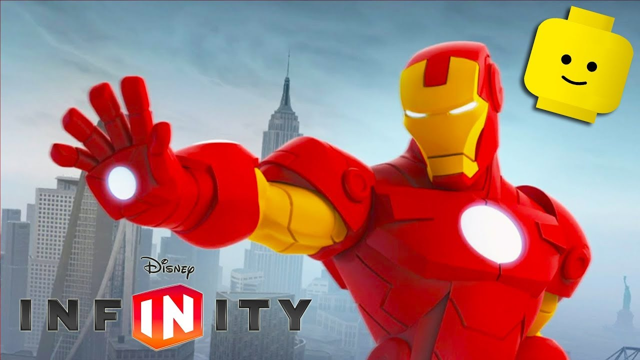 IRON MAN Cartoon Games for Kids | DISNEY INFINITY 2.0 Avengers Video Game for Children