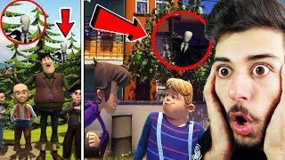 Çizgi Filmlere Gizlenmiş SLENDERMAN Görüntüleri! (ŞOK OLUCAKSINIZ!)