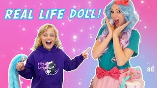 Payton gets new candylocks dolls and her twin brother paxton creates a machine that brings the doll to life! thanks spin master for sponsoring this video! p...