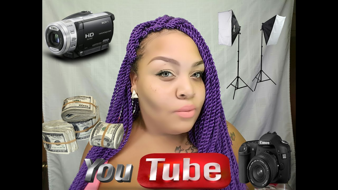 how to start a make up youtube hannel
