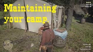 Maintaining your camp in Red Dead Redemption 2 Video