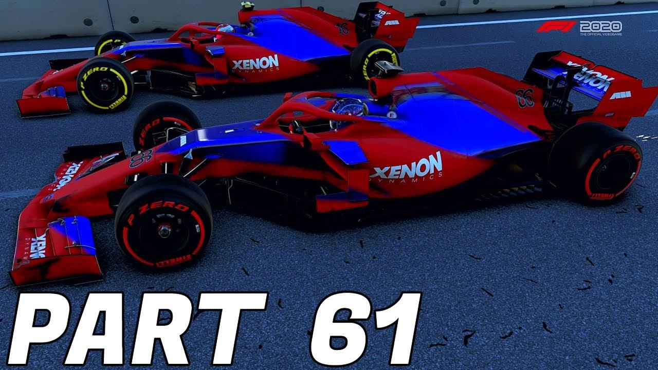 F1 2020 Gameplay MY TEAM MODE Part 61: BEST TEAMMATE IN ...