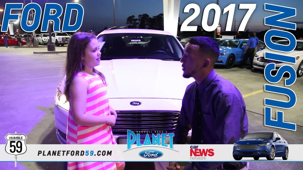 Planet Ford 59 >> 2017 Ford Fusion From The Eyes Of Child Planet Ford 59 Humble Texas