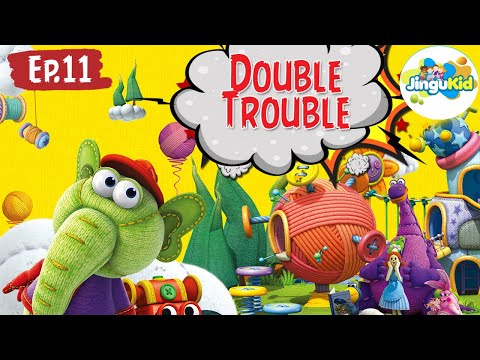 DIBO The Gift Dragon | Double Trouble | Animated Cartoon Songs For Preschool Kids | Learning Videos