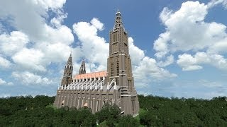 MINECRAFT CATHEDRAL: Ulm Minster 1:1 (Ulmer Münster) [HD]