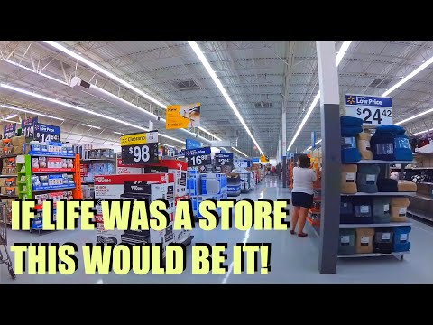 Orlando Walmart Supercenter Shopping