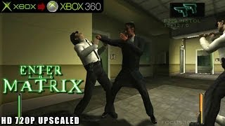 Enter the Matrix - Gameplay Xbox HD 720P (Xbox to Xbox 360)