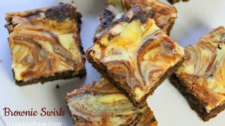 Brownie Swirls
