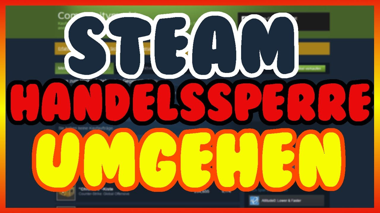 Steam Handelssperre