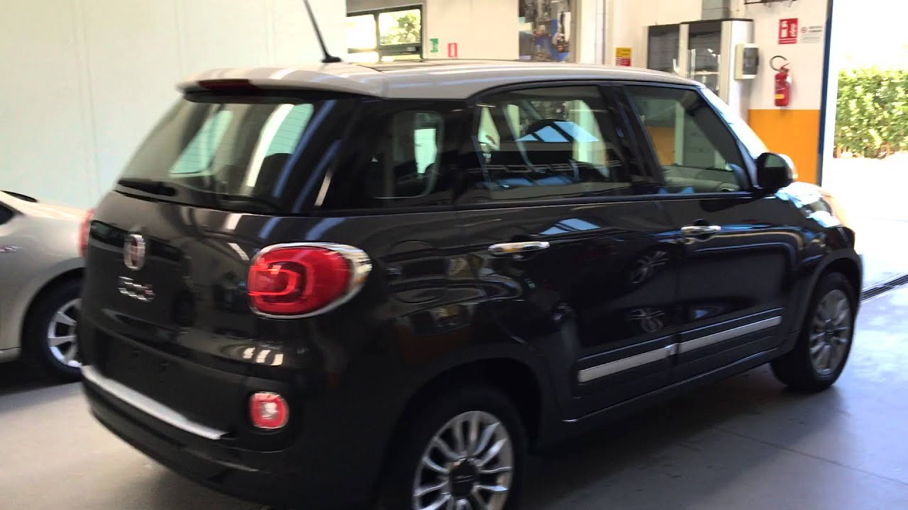 fiat 500l 1.3mjt 95cv - youtube