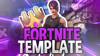 FREE FORTNITE THUMBNAIL TEMPLATE ! (Battle Royale)
