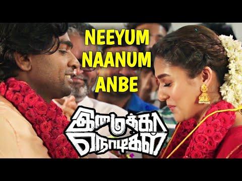 Imaikkaa Nodigal | Neeyum Naanum Anbe Video Song Reaction | Vijay Sethupathi | Nayanthara, Atharvaa