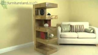 Mantis Light Solid Mango E Display Unit From Oak Furniture Land