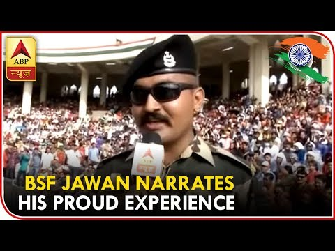Motivator Abhishek At Wagah Border Narrates His Proud Experience | ABP News