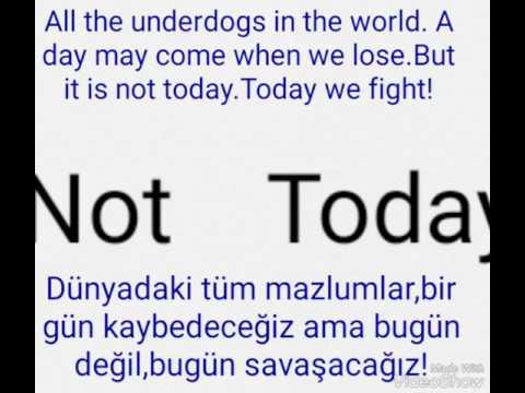 BTS NOT TODAY TÜRKÇE KORECE ALTYAZI