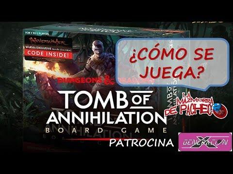 Tomb of Annihilation - Board game: cómo se juega