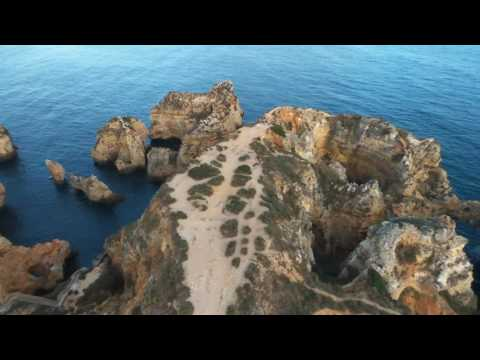 Algarve aerial shots / Portugal / Faro / Lagos / Algarve Caves / Drone - Places to see in Europe - 1