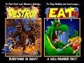 Giant monster/Kaiju themed arcade games