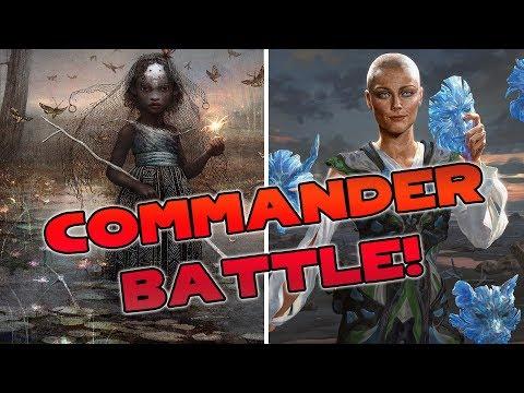 Commander BATTLE! Estrid vs. Aminatou | Magic the Gathering Live Gameplay