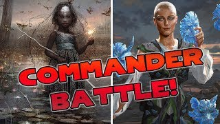 Commander BATTLE! Estrid vs. Aminatou | Magic the Gathering Live Gameplay