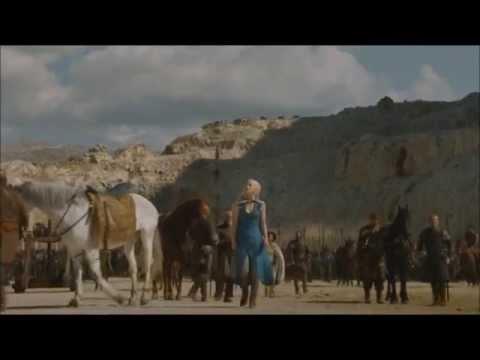 Game of Thrones, Season 4x03 - Daario Naharis vs Champion of Meereen Scene
