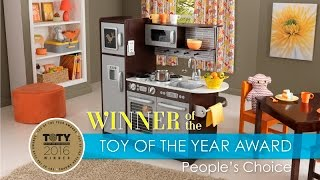 Children's Uptown Espresso Play Kitchen   Toy Review