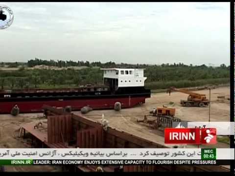 Iran made landing crafts 800 & 1000 metric Ton لندينگ كرافت ساخت آبادان ايران