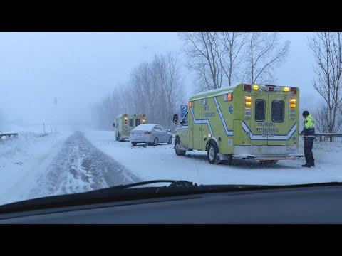 Tempête de neige - Québec, Trois-Rivières, Montréal / 20-01-19