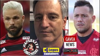 Presidente do Flamengo Rodolfo Landim fala sobre situações de Diego Ribas e Diego Alves!