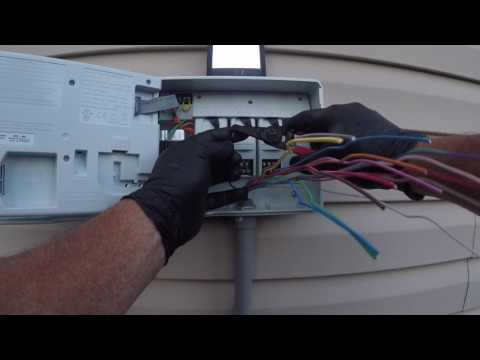 Rainbird ESP-Me irrigation controller install - YouTube on