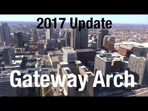 Gateway Arch 2017 Update - The Elevator Show
