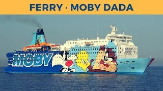 Arrival of ferry MOBY DADA in Bastia (Moby Lines)